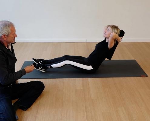 Yogastrip, rug, yoga
