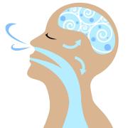 dooor de neus ademen